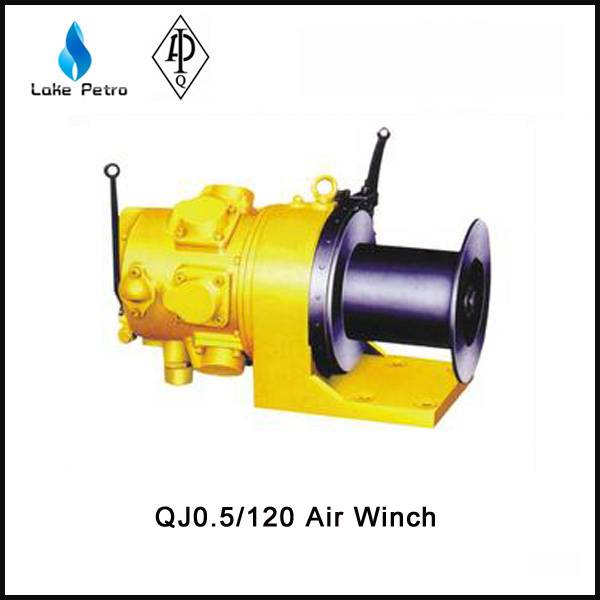 High quality QJ0.5/120 air winch in oilfield