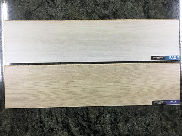 HPM(High PressureMelamine Laminate) Surface Engineered Flooring_Cotton White, Wash Oak