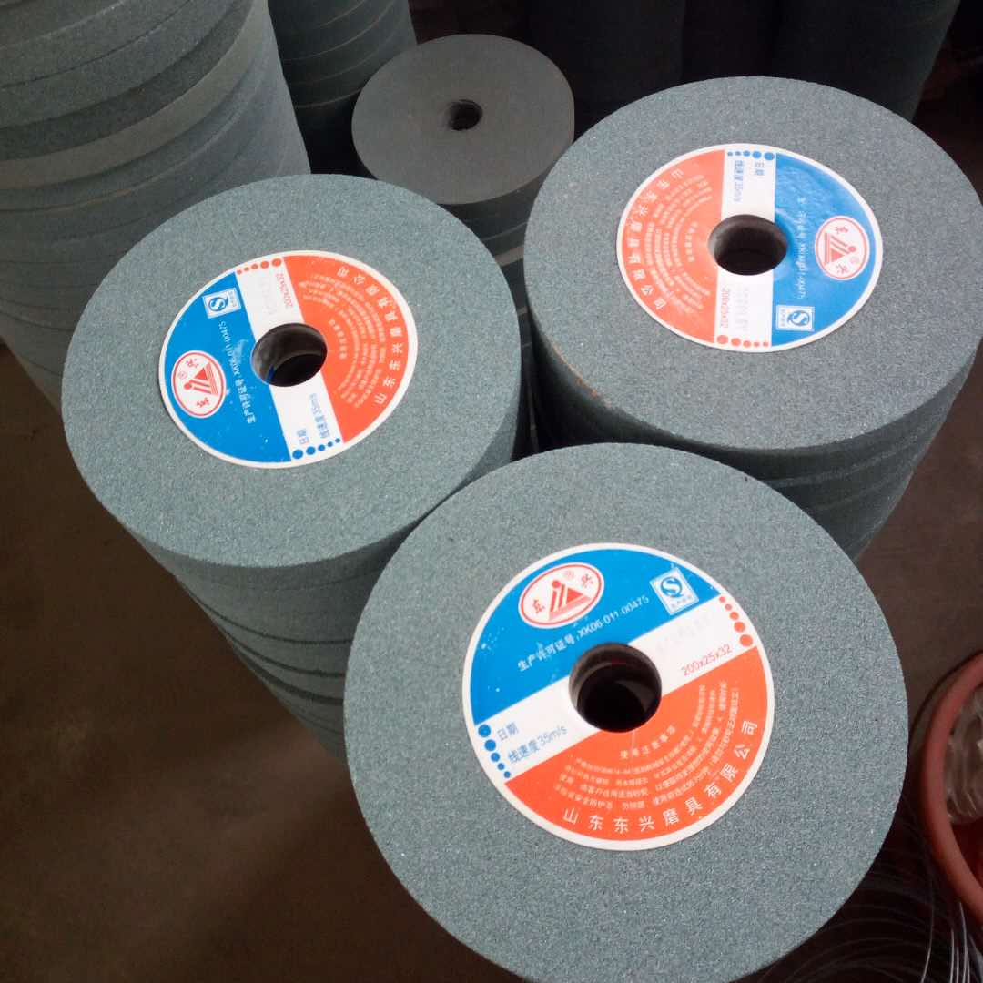 wholesale 200x25x31.75 green silicon carbide grinding wheel