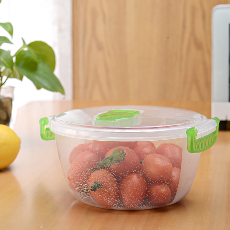 hot sell plastic fruit fresh box/food container with good sealing