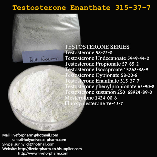 99% Quality Testosterones Enanthate/Raw Powder/Cas 315-37-7/TEST E/TE