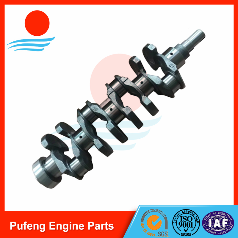 Toyota crankshaft 3Y 4Y 13411-73010 for forklift