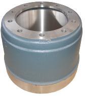 FUWA Brake Drum 3602S1