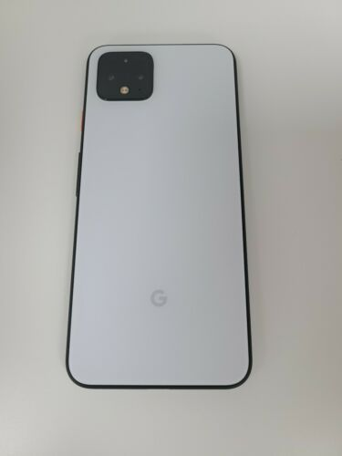 Google Pixel 4 G020I 64GB White Unlocked Great Condition -UL2GW +14704086638