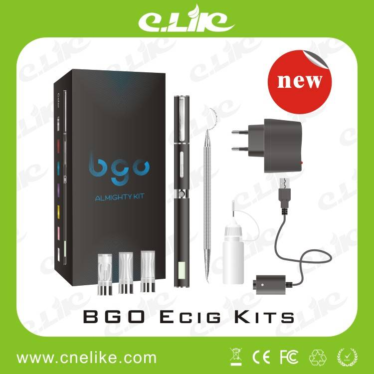 Newest Hot Selling Bgo Vaporizer Electronic Cigarette for Eliquid/Wax/Dry Herb (tobacco)