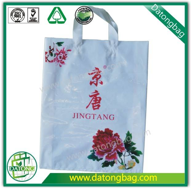 handle plastic bag shopping bag