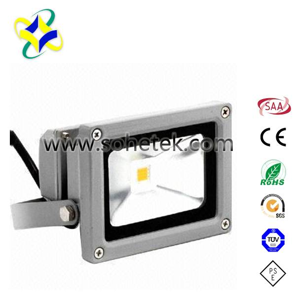 Outdoor LED Floodlight Fixtures 50W Meanwell Driver