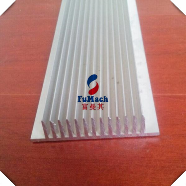 Acid resistant Solar Aluminum Profile with Wood Grain / Mill Finish
