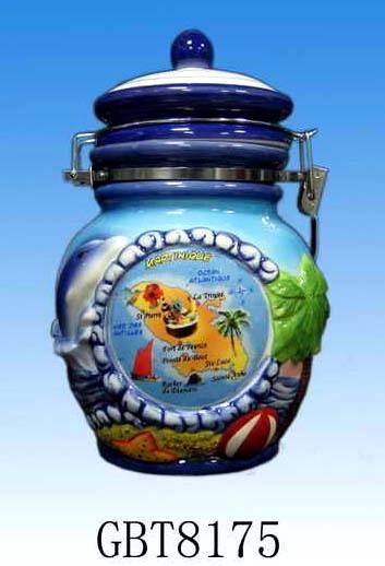 Ceramic sealing pot / airtight storage jar