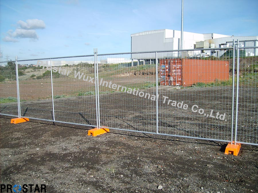 Australian Standard As4687 Temporary Fence with Couplers