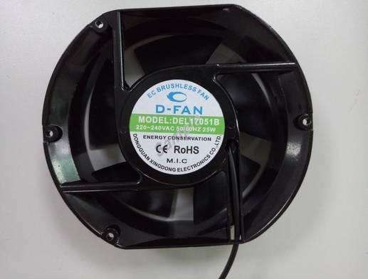17051 172x150x51mm EC Fan