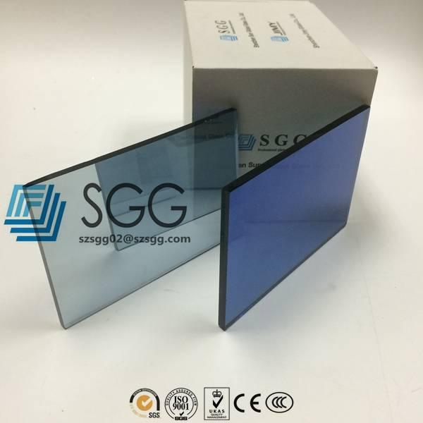 4mm 5mm 5.5mm 6mm 8mm 10mm Dark Blue Reflective Glass Price