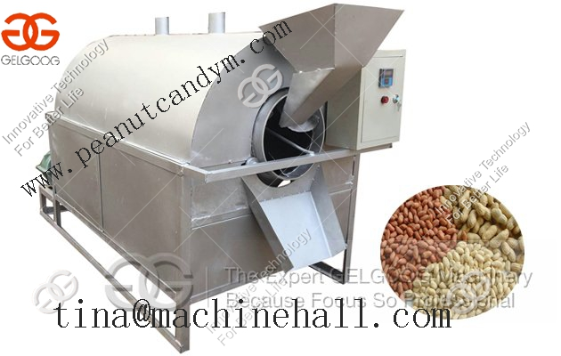 Nut roaster machine|almond roasting machine