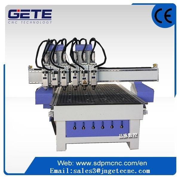 six head relife wood cnc router /engieer available to serivce overseas