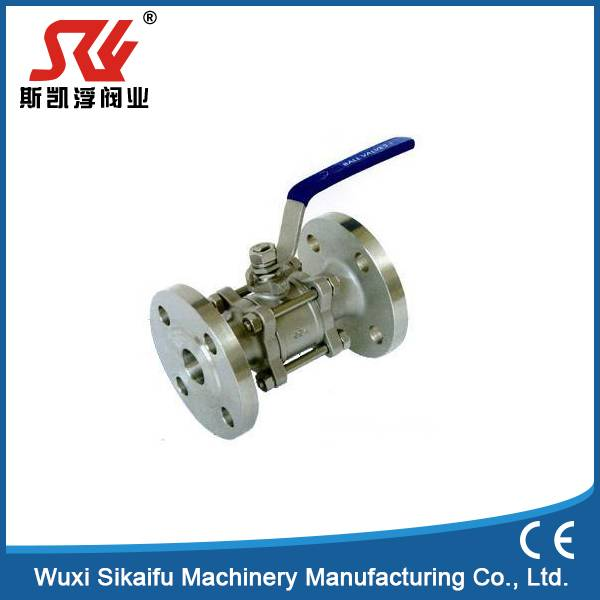 1PC/2PC/3PC DIN Flanged Ends Ball Valve PN16/40