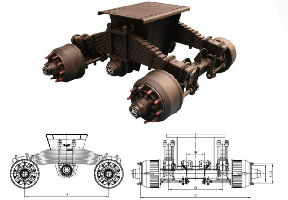 American Type Mechanical Suspension