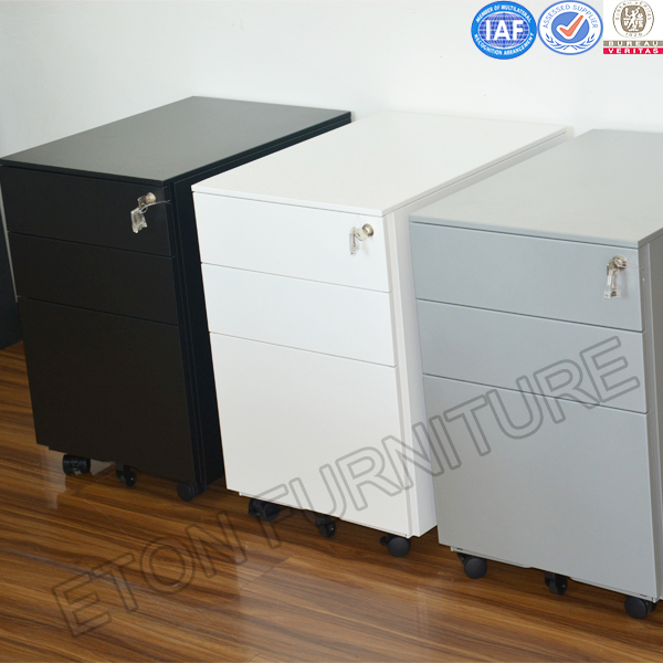 Hot Sales Office 3 Drawer Metal Mobile Pedestal Cabinet Base Cabinet