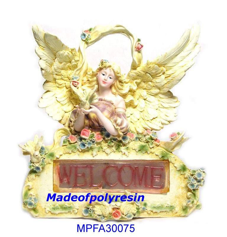 resin angel,resin angel figurine & crafts