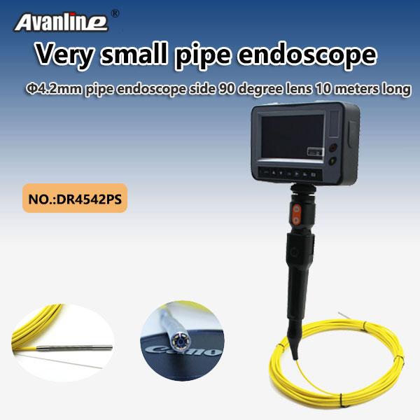 4.2mm pipe borescope side 90 degree lens