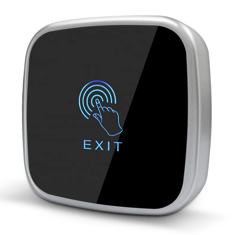 Touch screen Exit button for door access control systems push button touch keypad exit switch