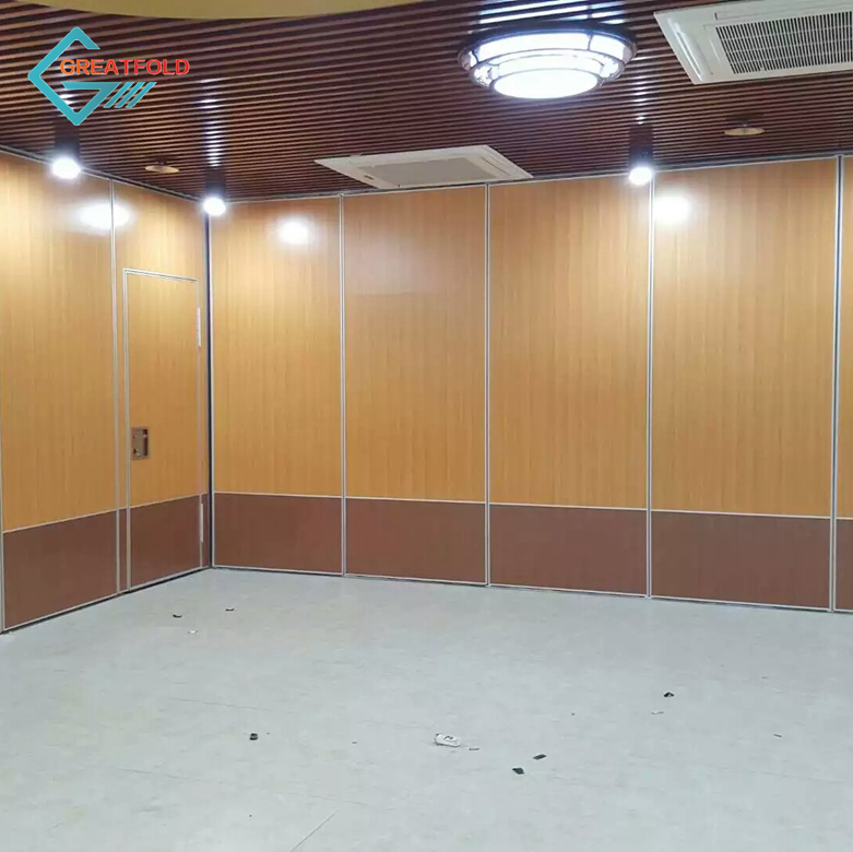 Office soundproof movable outdoor folding movable partition wall