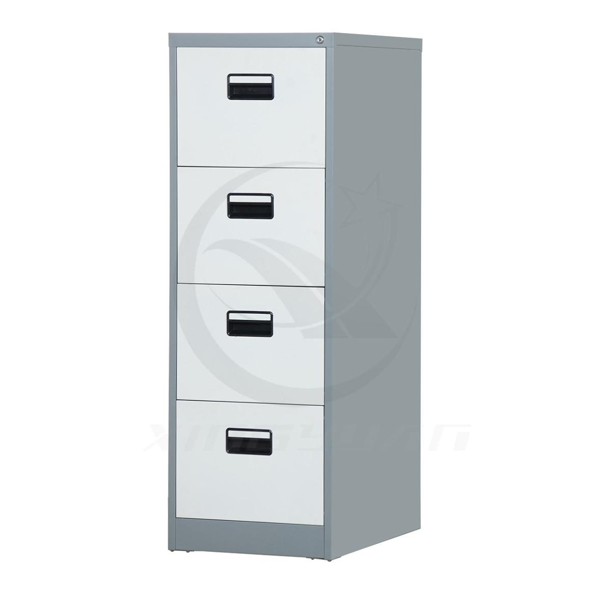 Cheap Shaw Walker 4 drawer metal file cabinet