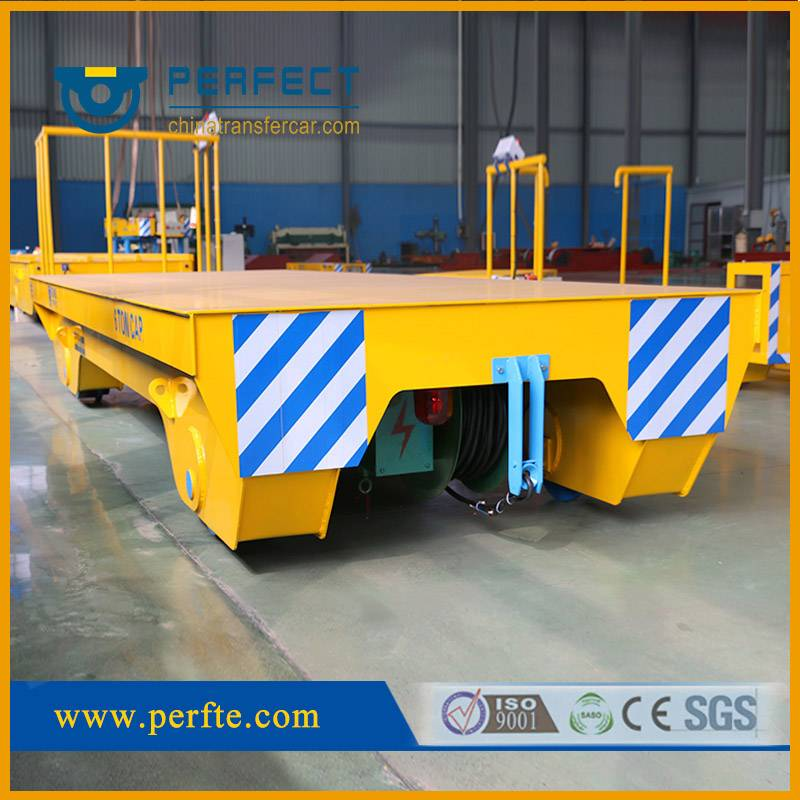 Cable Reel Powered Self-propelled Rail Transport Car