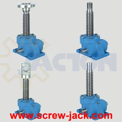 long stroke high tonnage screw jack, maximum static load capacity on jack, load lifting screw jacks