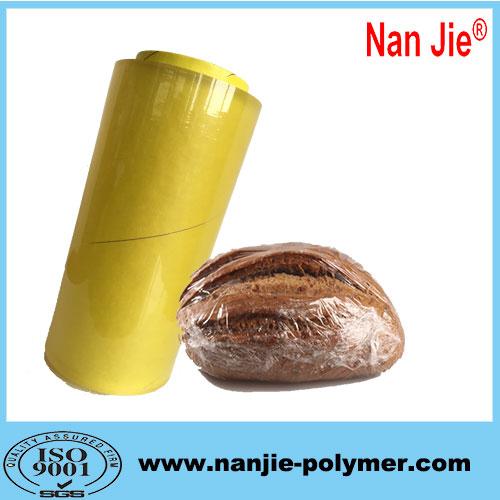 Nan Jie transparent pvc food wrap film big rolls