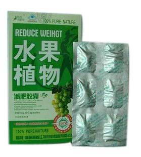 FRUIT & PLANT FRUTA PLANTA Weight Loss Capsule