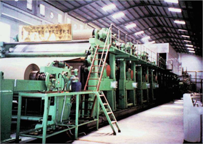 1880 fourdrinier multi-cylinder insole paperboard machine