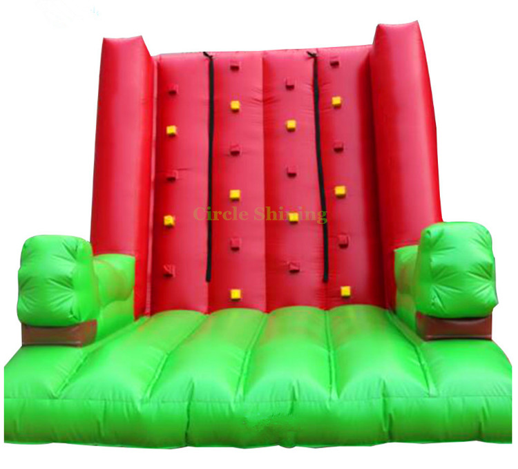 Inflatable sports climbing wall