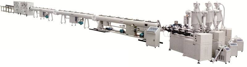 Fiberglass Reinforced PP-R Composite Pipe Extrusion Line