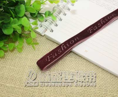 """""""Fashion"""" single face velvet ribbon"""