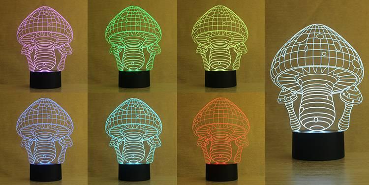NL2 innovate mushroom shape night light