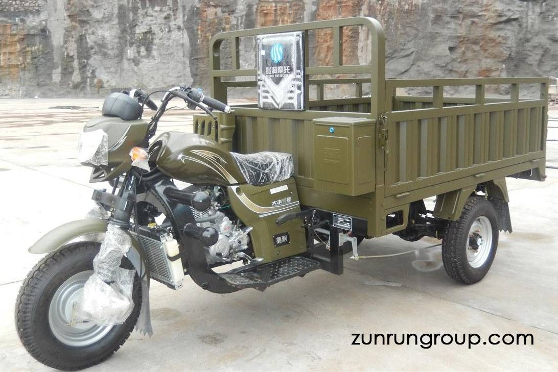 ZR200ZH updated model 200cc  water cooled heavy load three-wheel motor tricycle 3 (2)