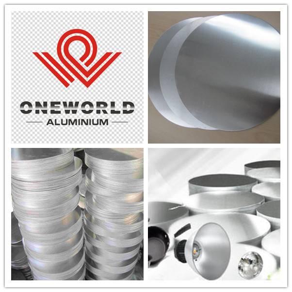 Hot Rolling Aluminum Circle