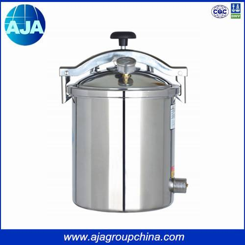 Hand Wheel Electric & LPG Heating Medical Autoclave