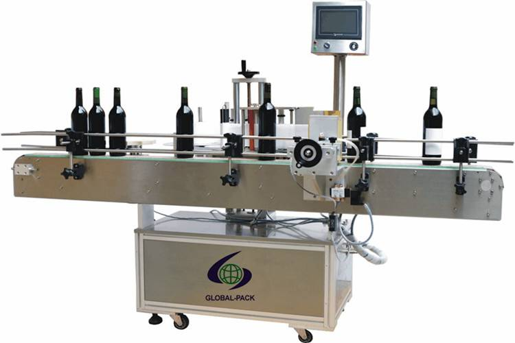 GLB-513DH Automatic Wine Vinegar bottles Labeling machine with fixed function