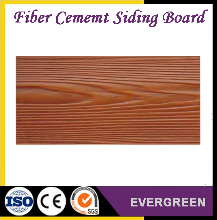 wooden grain fiber cement siding board