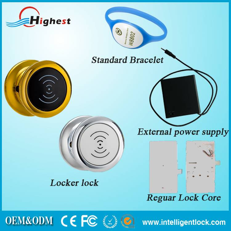 Electronic Locker Lock Good Quality Cabinet Lock With Smart Card