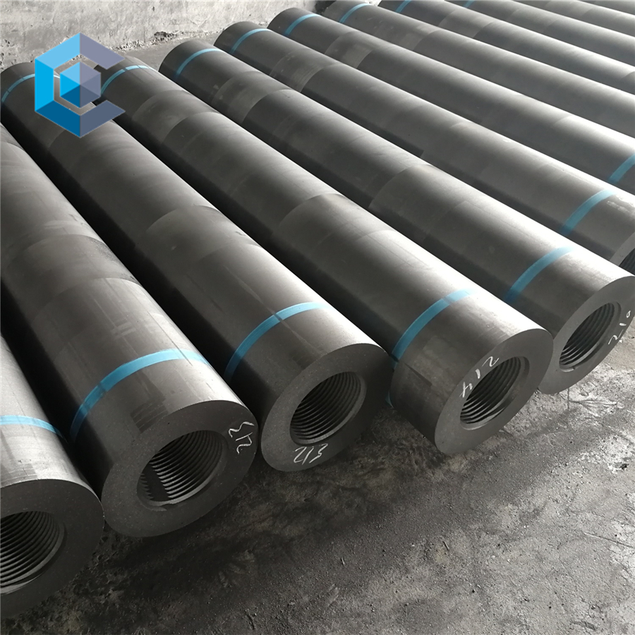 400mm RP HP UHP Graphite Electrode with Nipple