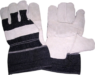 5213TRP cow leather working gloves