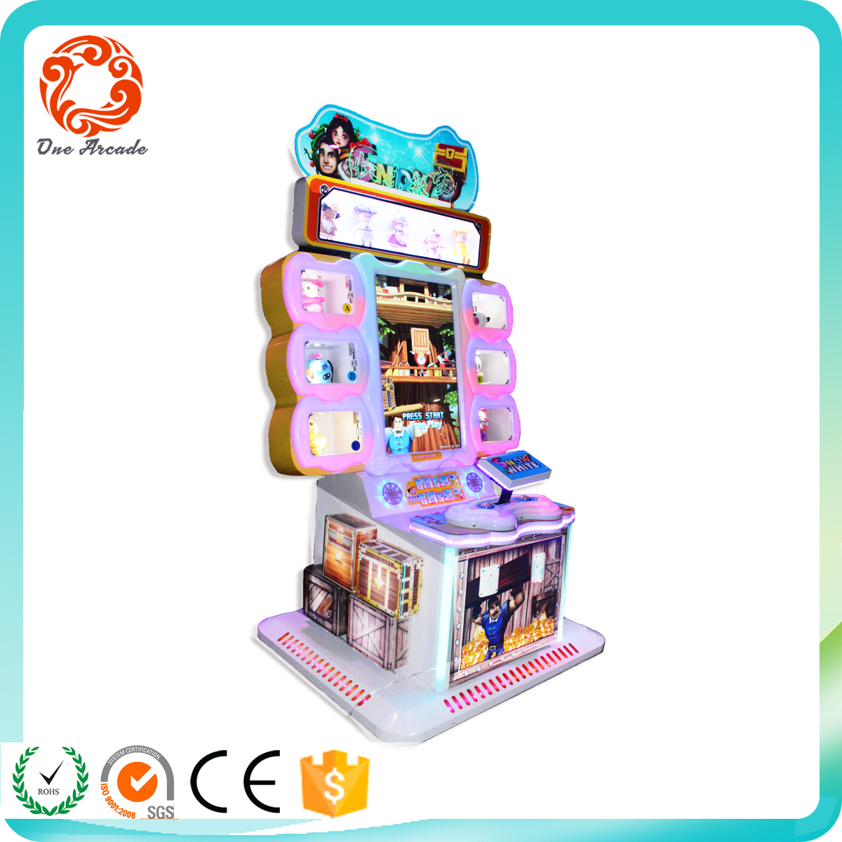 hot sales kids amusement coin operated game machine with cheap price