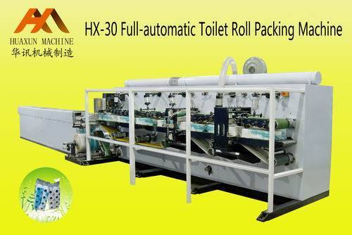 HX-30 Full-automatic Toilet Roll Packing Machine