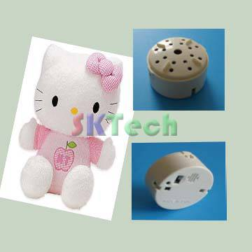 mini-voice recorder suitable for plush toys