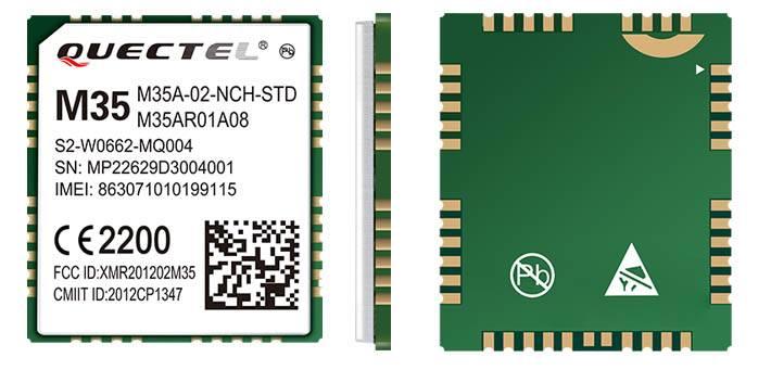 GSM/GPRS module M35