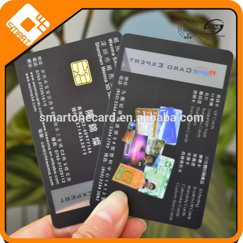 hot selling 13.56MHZ smart PVC IC card