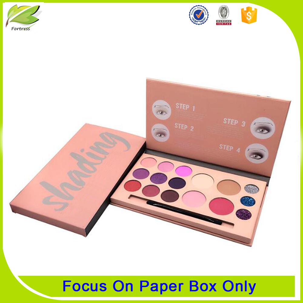 2017 Custom luxury cardboard eyelash packaging box