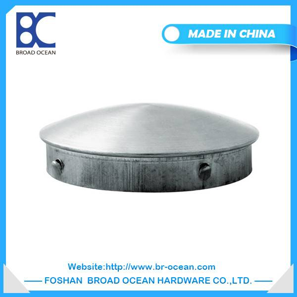 High qulity stainless steel pipe end cap